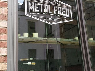 ...we are at Metal Fred Designs!