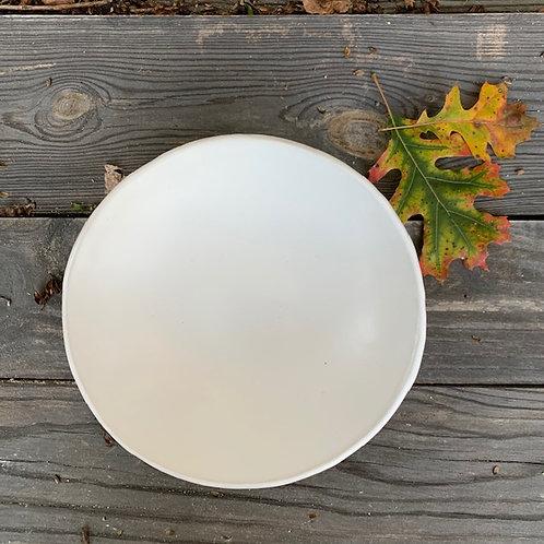 Rustic White Single Serving Pasta Bowl