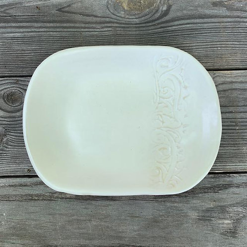Milk White Satin Cookie Tray