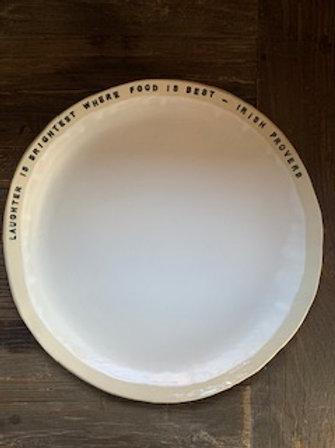 Irish Proverb Serving Platter