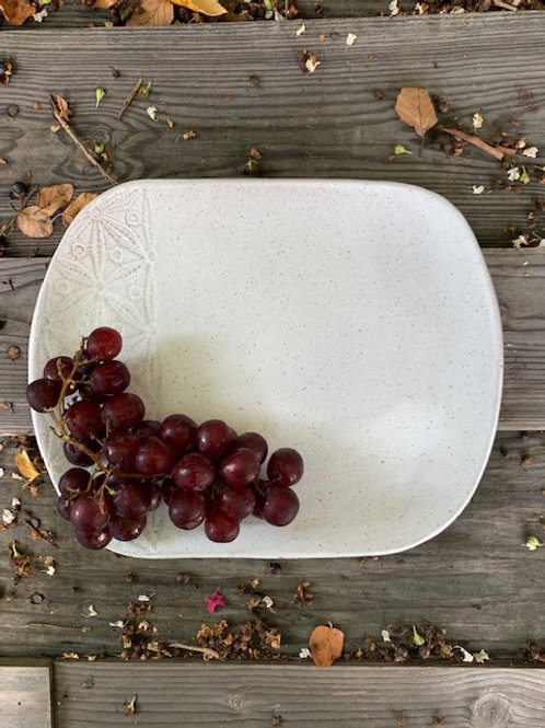 Lace Accent Bistro Share Platter