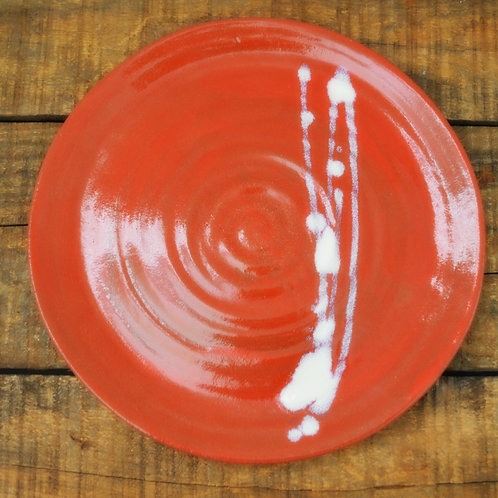 """Red Hots Tableware -10.5"""" Dinner Plate"""