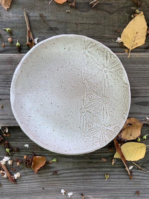 Share/Side Plate with Lace Detail