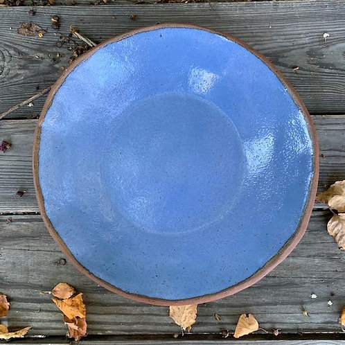 LT Pasta Bowl in Blue Satin