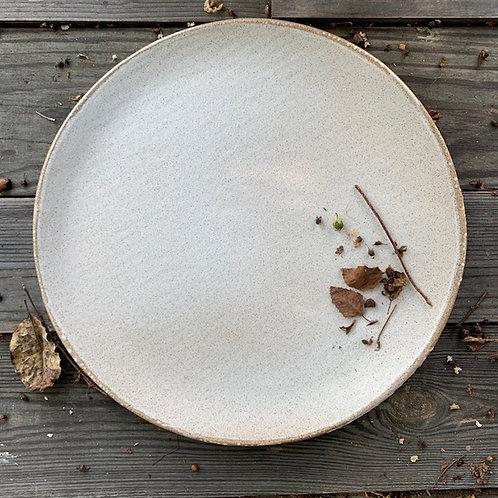 White Speck Serving Platter