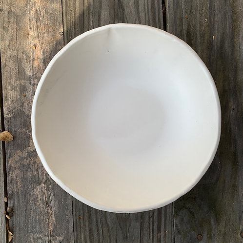 Whiteware Serving Bowl
