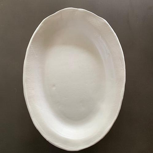 The White Turkey Platter