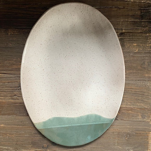 The Teal-Tipped Platter