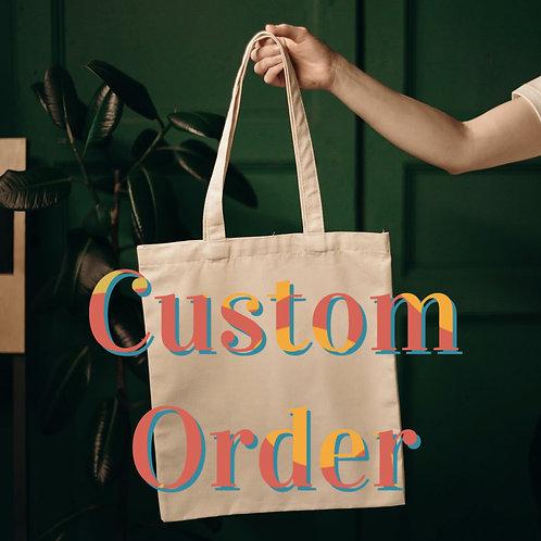 Custom Order for Joan - Set of 4 Bowls
