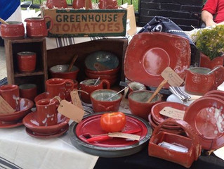 Summer Triangle Pottery at The Tomato Arts Fest in East Nashville