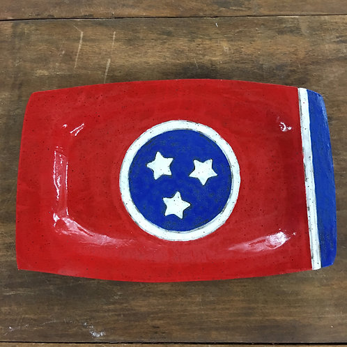Celebrate Tennessee Items: Rectangluar Tray