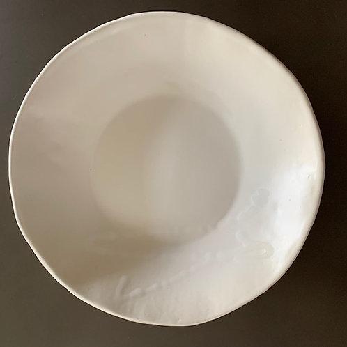 The White on White Pasta Bowl