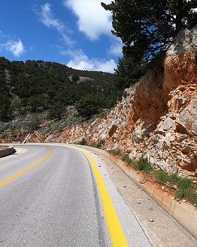Automobilių nuoma Kretoje, keliai, atstumai, taisyklės