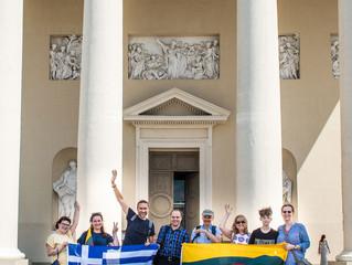 Kiek Vilniuje yra Graikijos ir Kretos?