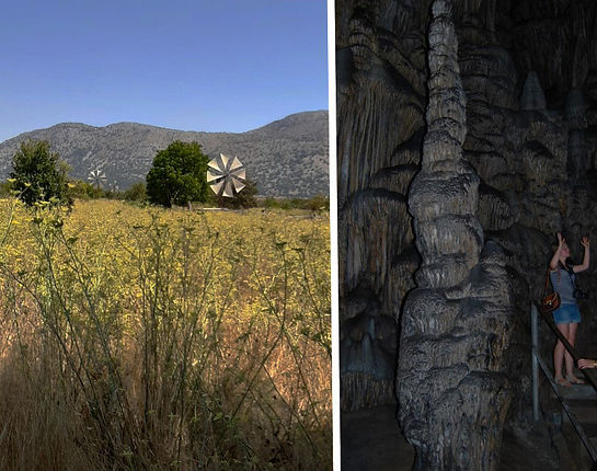 Malūnai Lasiti plokščiakalnyje, Dzeuso urvas