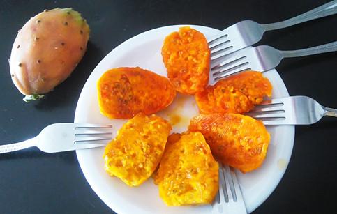 Opunsijos kaktuso vaisiai