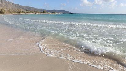 Elafonisi paplūdimys, Elafonissi island, ekskursija į Elafonisi