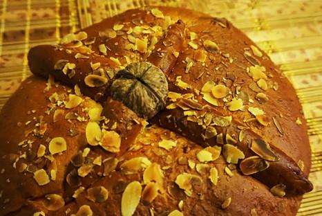 Kalėdų duona - christopsomo