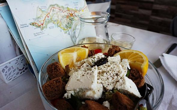 Tavernoje Akrotiryje Santorini saloje