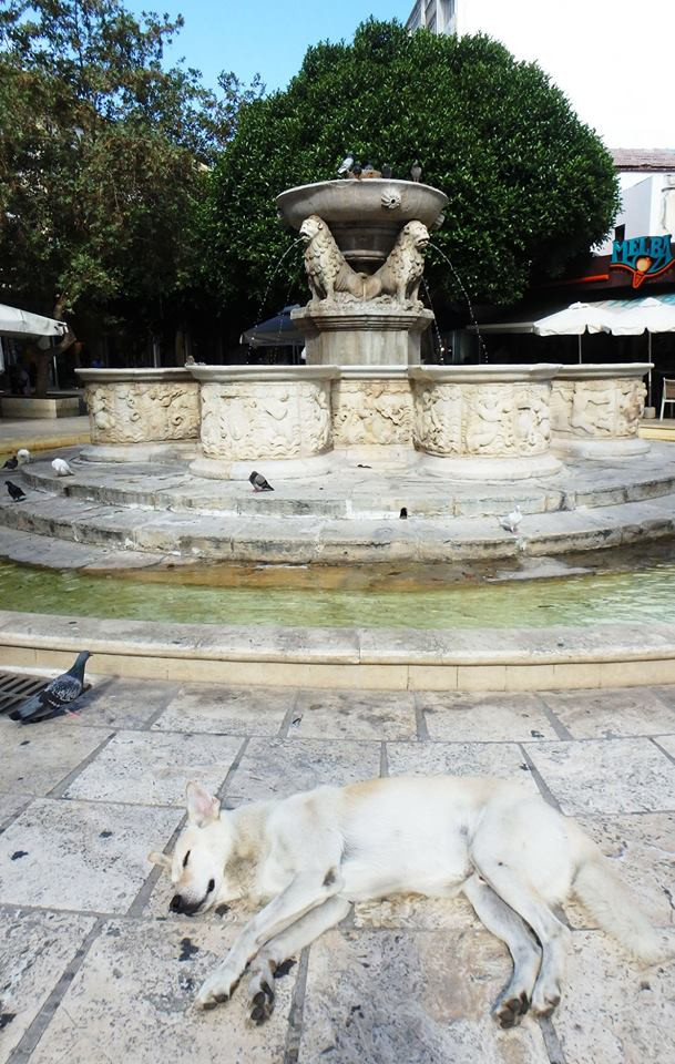 Heraklions Morosini fountain