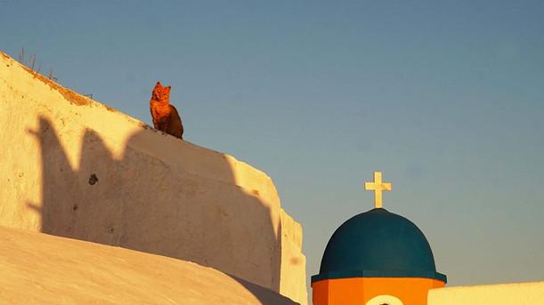 Santorinis, Karterados gyventojas