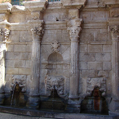 Retimnas, Rethymno, Rethymnon, Retimno senamiestis, Rimondi fontanas
