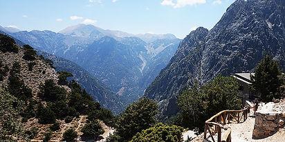 Samarijos tarpeklis Samaria gorge