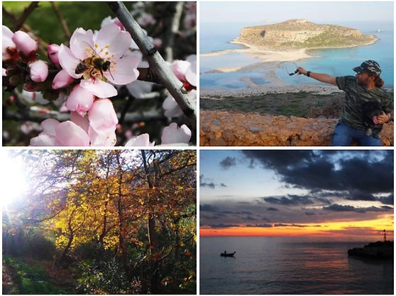Koks oras Kretoje