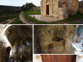 Panagia Kera Limniotissa. 1000-metė Kretos cerkvė su originaliu užraktu