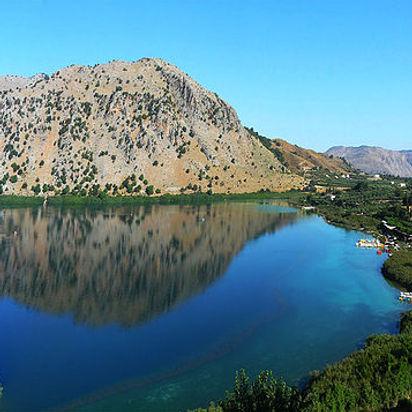 Kournas Kurno ežeras, ekskursija prie Kourno