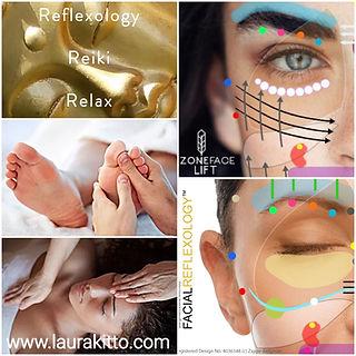 Reflexology, Facial Reflexology, Zone Face Lift, Reiki,