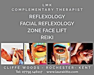 reflexology facial reflexology reiki zone face lift rochester kent