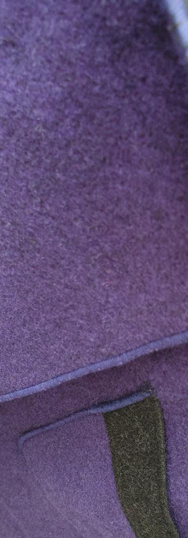 Douleface lila grau