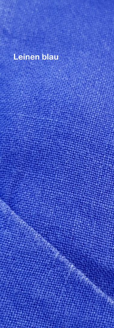 Leinen blau
