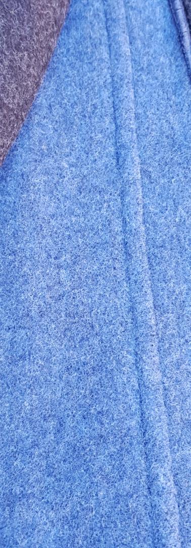 Doubleface blau/anthrazit