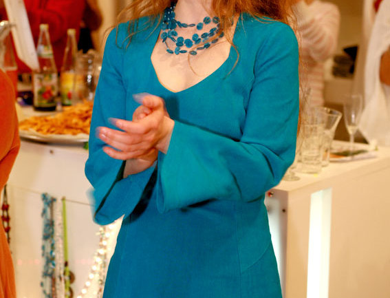 Julietta Leinen türkis