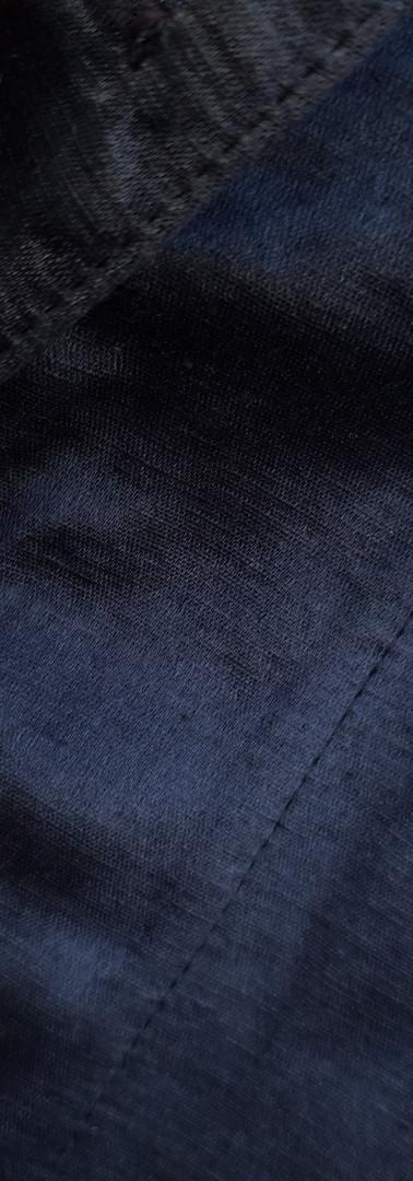 Hanf-Seide schwarz