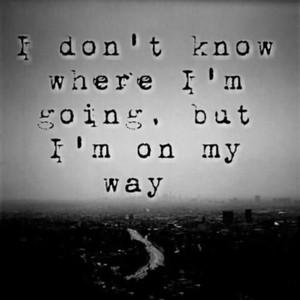 Where I've Been Versus Where I'm Going