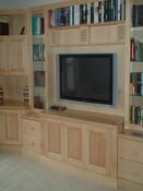 Maple television unit