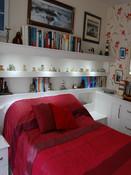 Modern painted bedroom