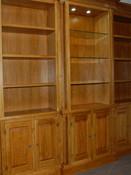 Traditional bespoke oak unit