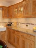 Pippy oak framed kitchen