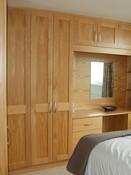 Shaker style oak bedroom