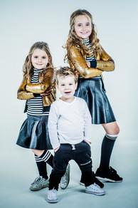 Naomi, Sofie en Mees