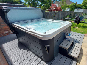 X-300 Hot Tub From Our X-series Range Installed In Worcester By The Forest Spas Team!