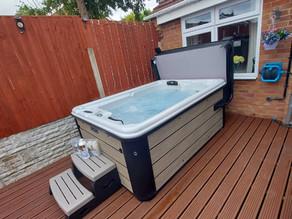 Hot Tub Installation Complete In Kidderminster!