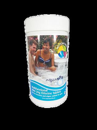 AquaSparkle Multifunctional Chlorine Tablets 50 x 20g