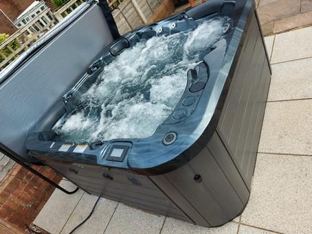 Vortex Spas Hot Tub Installation In Enville