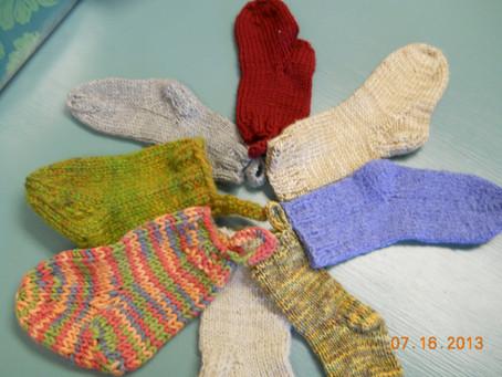 Yum, Hand Made Socks
