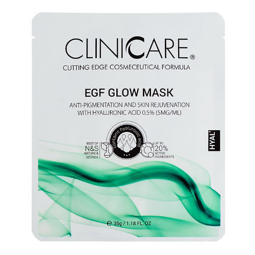 ClinicCare EGF Glow Sheet Mask